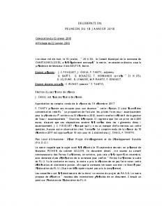2018_01_18 Conseil 18012018